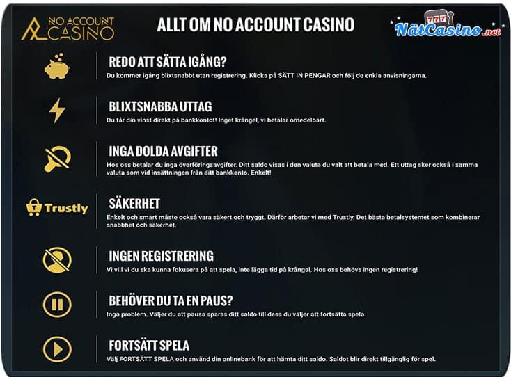 casino utan registrering