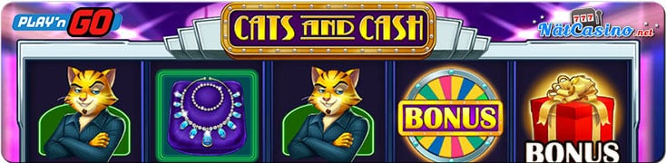 cats & cash spelautomat