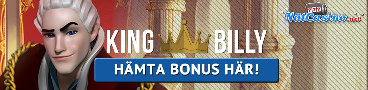 kingbilly casino nätcasino bonus