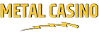 metal casino logotyp