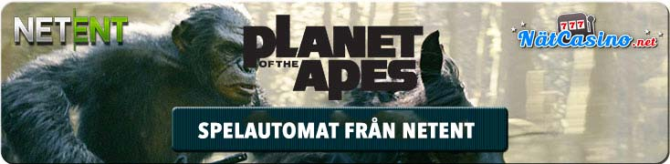planet of the apes spelautomat netent
