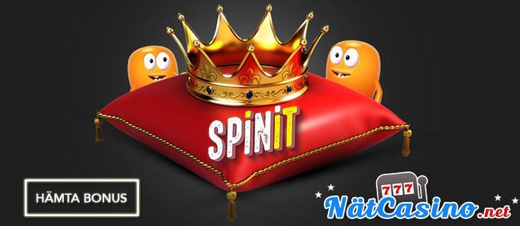 spinit casino nätcasino bonus free spins