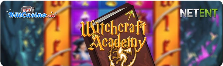 witchcraft academy netent spelautomat